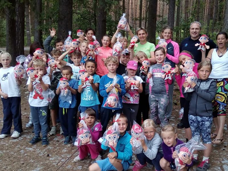 Kryštůfek pomohl dětem při nešťastném zřícení terasy