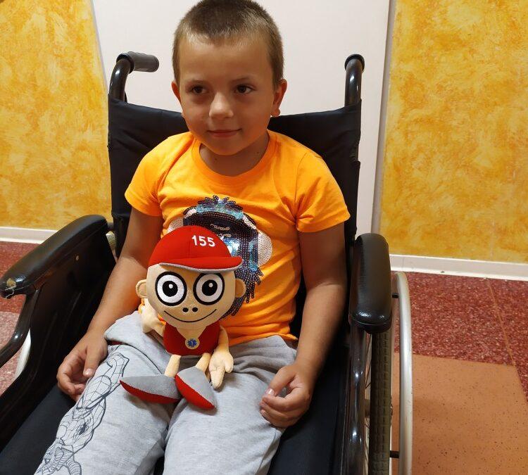 Kryštůfek pomohl překonat první epilepsii